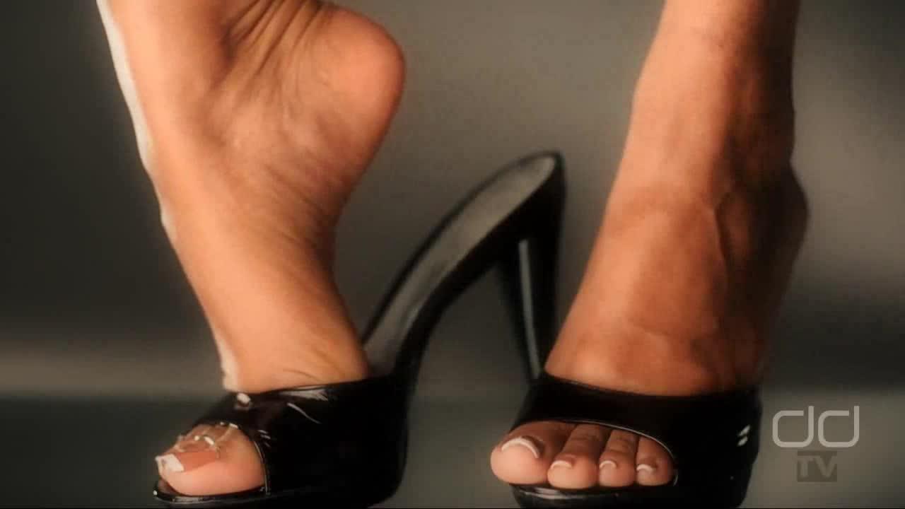 Dangling high heels mules tgp agree, the