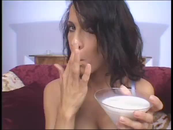 glass full of cum
