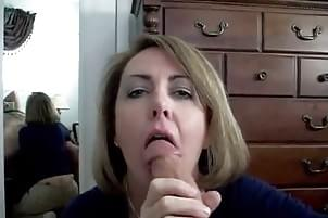 Of Mom shows sons cock pics