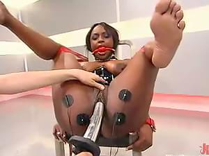 Mature lesbian licking tits