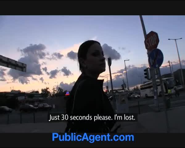 Publicagent Real Life Porn Star Takes Home A Stranger