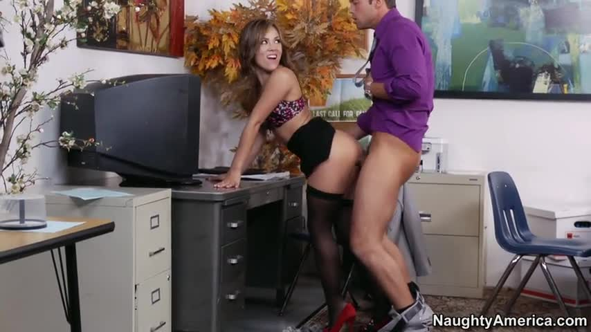 Fucked on office desk