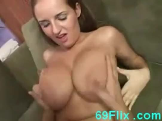 Beautiful natural tits sister