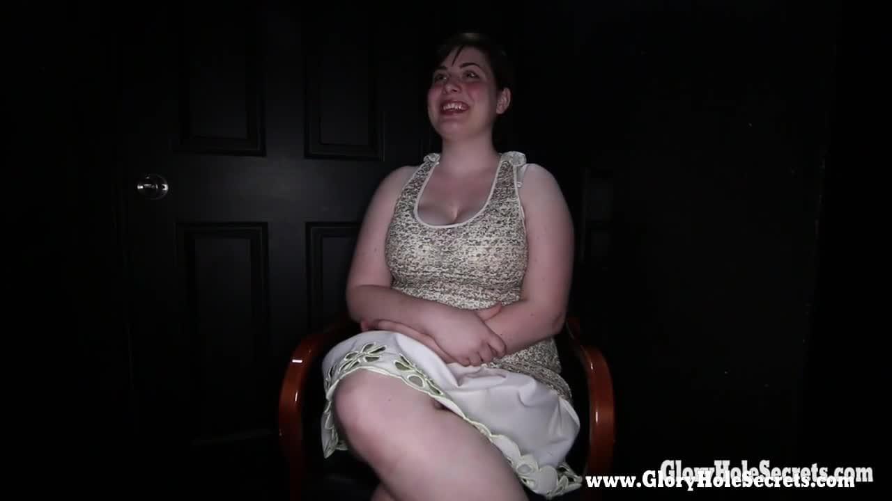 Bbw gloryhole big tits
