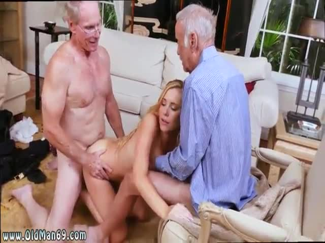 Young and old frankie and the gang tag team a door to door saleswoman, angelicawhite