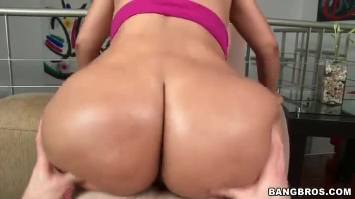 Fat Ass Latina Reverse Cowgirl