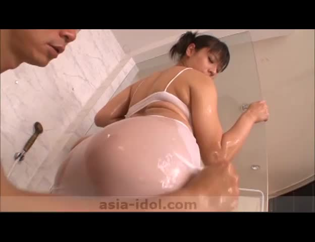 tits asian titty big Oily fuck
