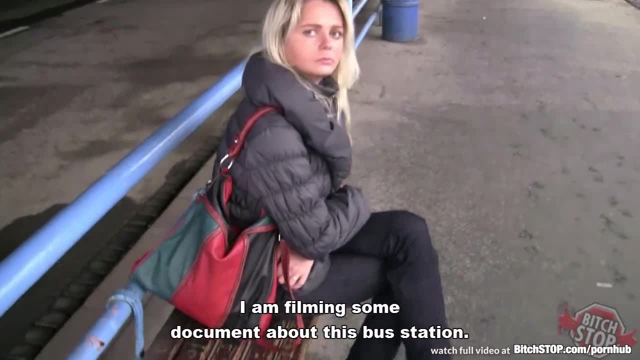 Bitch stop czech milf picked up at the bus station 8
