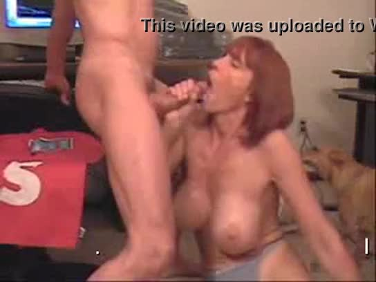 White mature wife swallow black