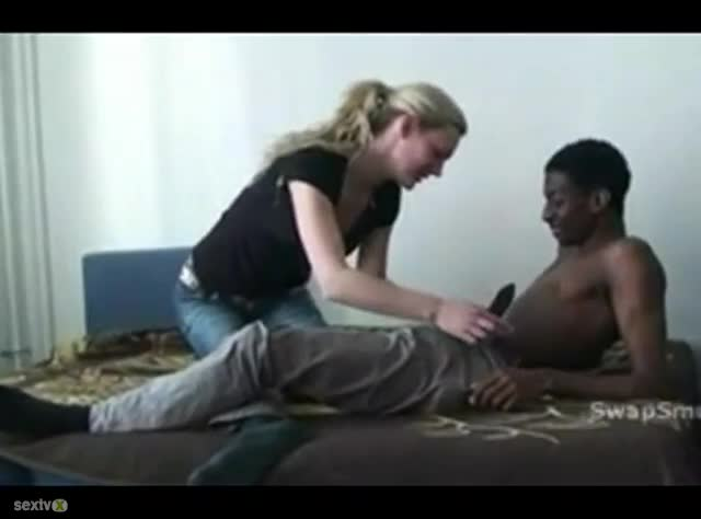 Young Black Teen Masturbating