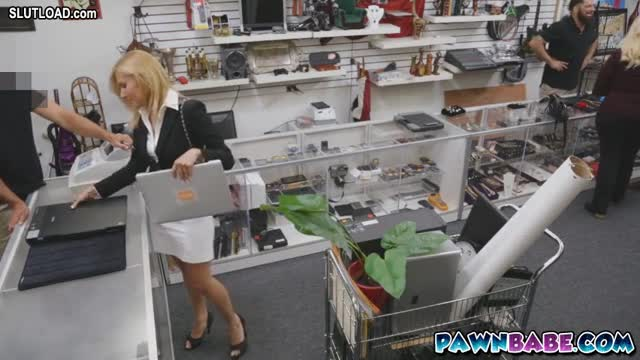 fucked in pawn shop