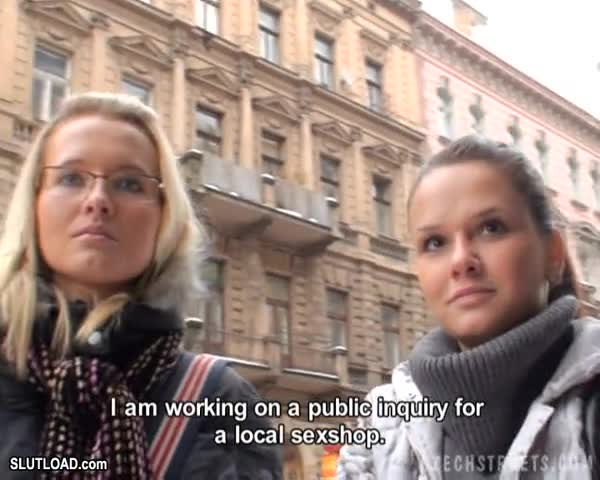 Czech Streets 33 – Alena and Simona
