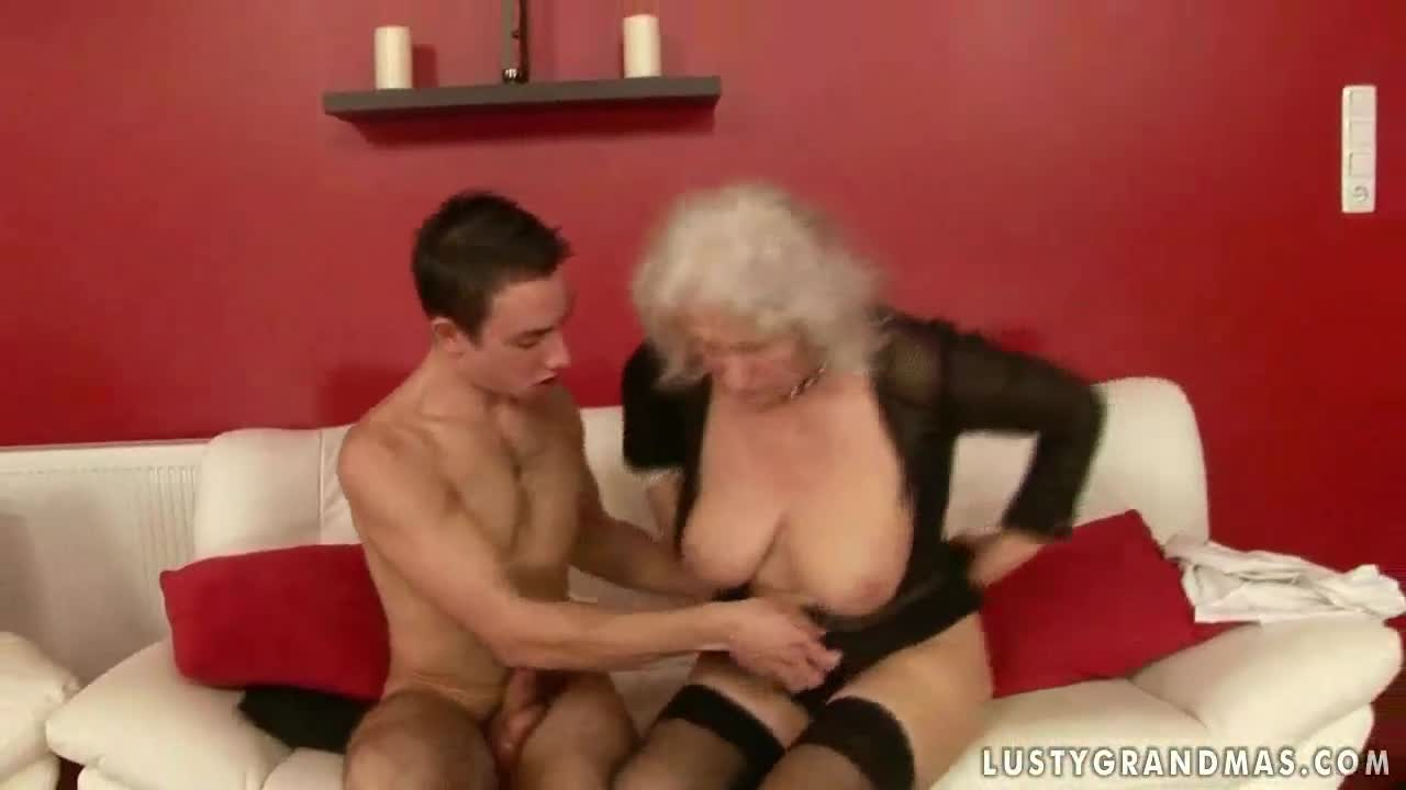 Boy fucking grandma video congratulate