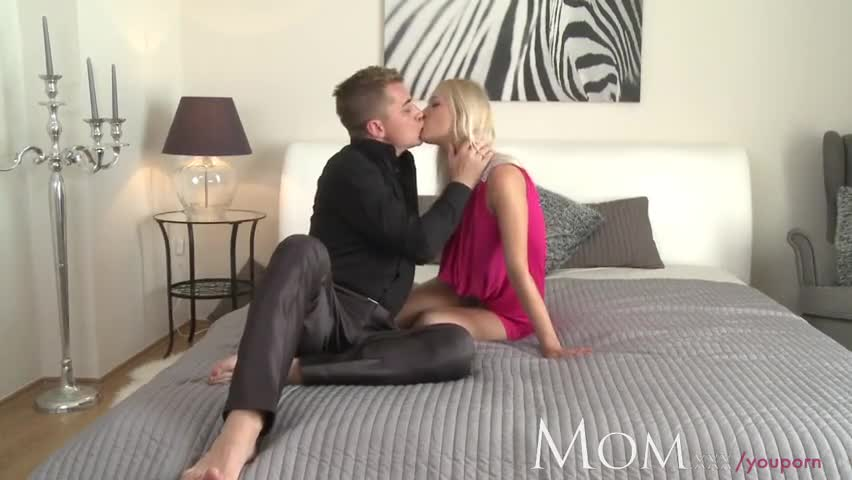 Blonde has multiple orgasms