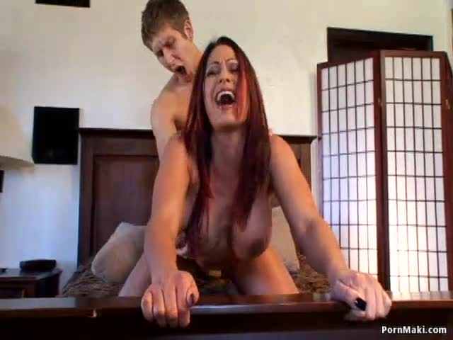 Spank erect bare secretary
