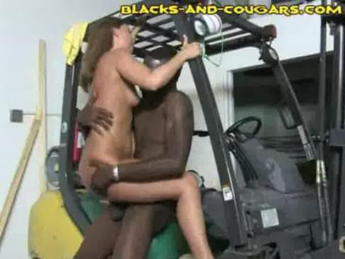 Hung black man uses another mans hot mature wife like a fuck doll he picks ...