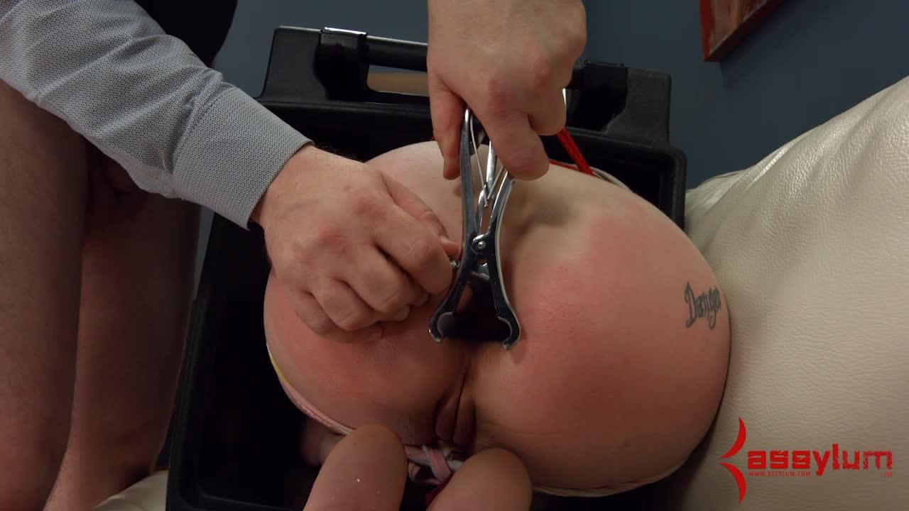 Brutal anal punishment porn