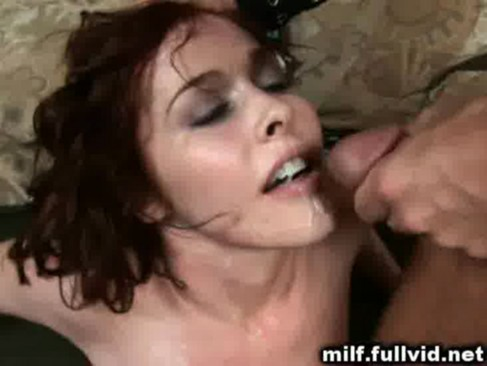 Interesting redhead gangbang cum facials apologise, but