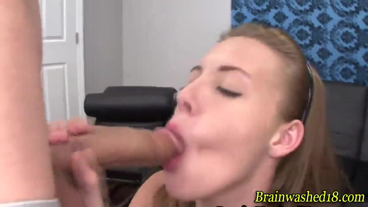 Hypnotized to give blowjob commit