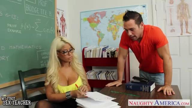 Very Sexy Teacher Bridgette Fuck In Classroom