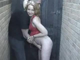Back alley blowjobs