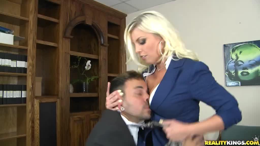 big tits boss britney amber