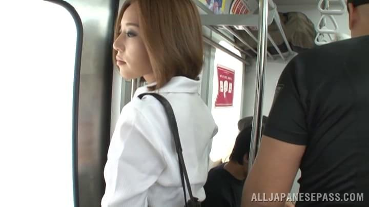 handjob in japanese bus № 738920