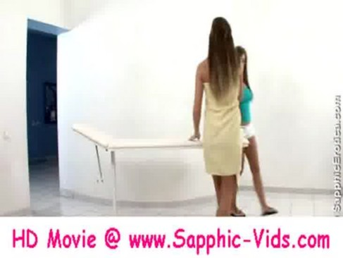 Sapphic Erotica - Cate and Natali Erotic Massage - Part 1 brought to