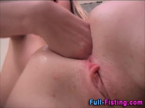 Femdom Incredibly Deep Anal Fisting Porn