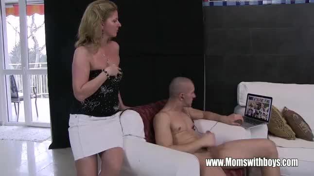 Stepson caught masturbating