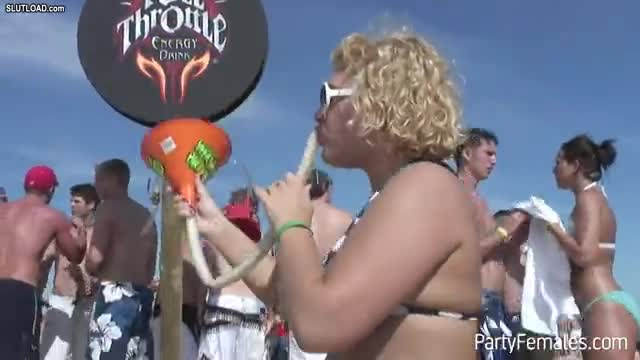 Beer bong blowjob promises that would