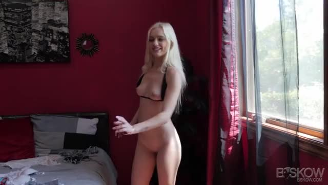 Kellie Krave Tied Up In Bikini On Bed Other Girl