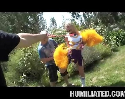 Cheerleaders humiliation gangbang videos