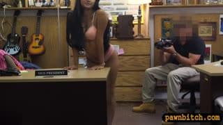 Cute Amateur Girl Gets Pounded By Nasty Pawn Keeper