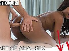 First Anal For Honey Ebony Princess Chanell Heart