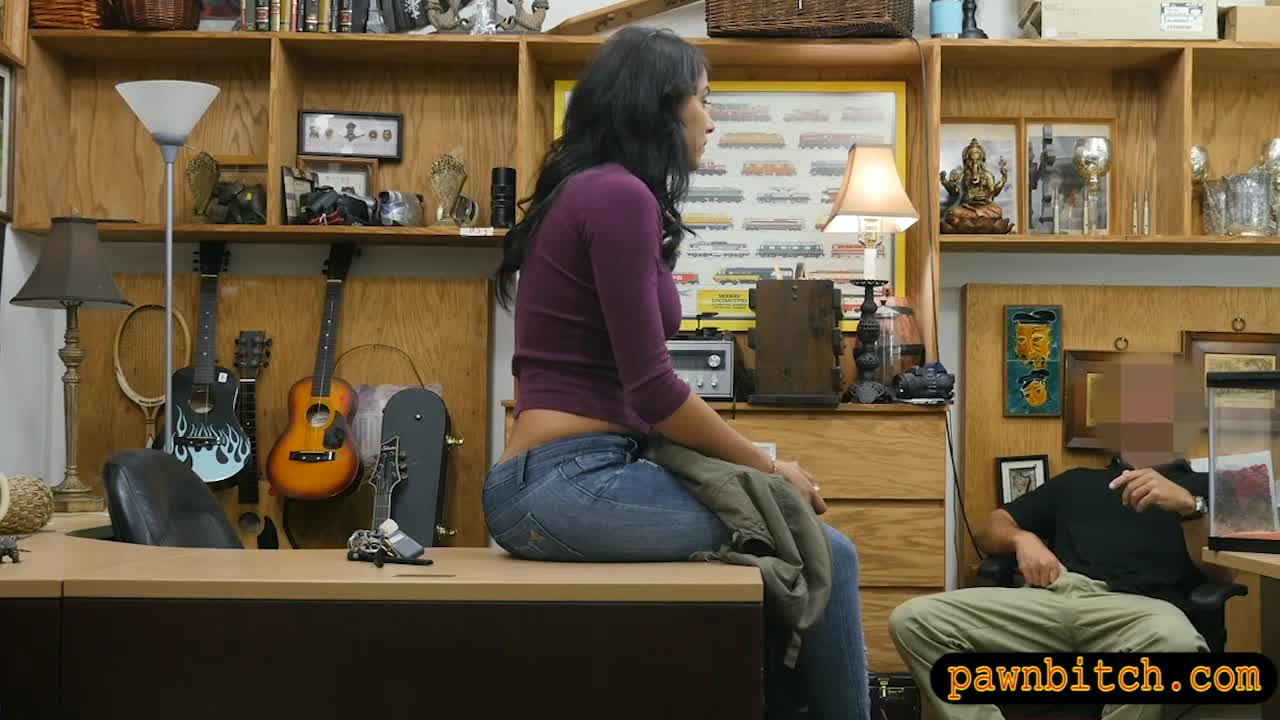 Busty Lady Screwed By Horny Pawn Dude At The Pawnshop