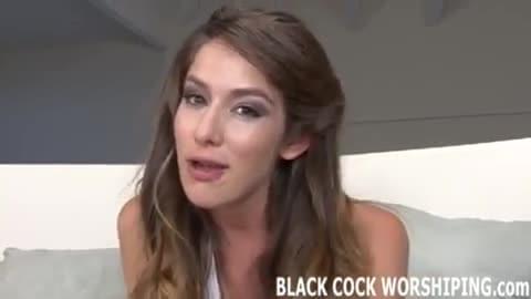 Big Black Dick Gets My Pussy Soaking Wet