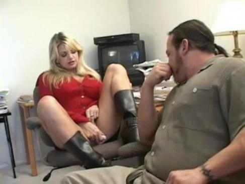 Long Legged Blonde Anal