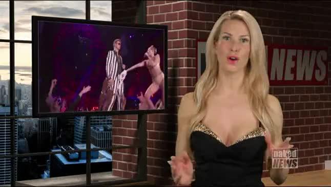 Naked News Whitney Saint John
