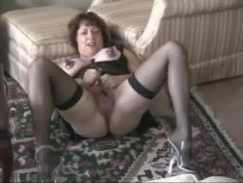 Old Granny Sucks Young Cock Like Hell