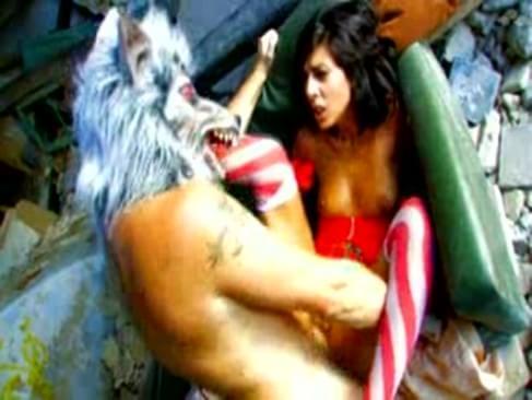 wolf fucks little red riding hood
