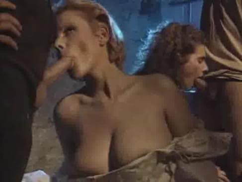 Russian lesbian orgy