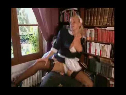 maid Busty fuck french