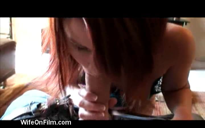 Caught wife seduces repairman