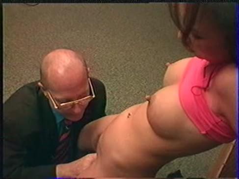 Fondle stripper tit