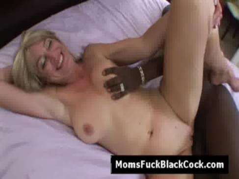Horny blonde cheating mom Liz Summers rammed in hotel room by black guy. Shes fucked on her knees then face up with legs up in the air. She want every bid of this black cock including his jizz. He doesnt disappoint her and gives her a hot cream pie.