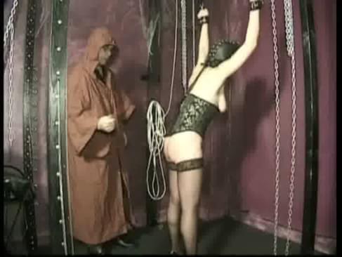 Duct tape self bondage