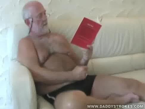 Thomdaddy was reading in his favorite collection of erotic gay stories and ...