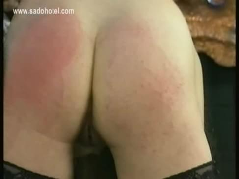 Pulls Sad Crying Slave With Big Tits On Her Ear And Spanks