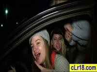 These two young college sexy girls get fucked hardbr br